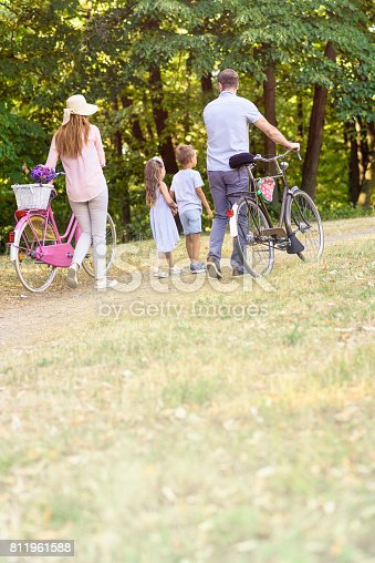 658444674istockphoto Family weekend fun in the nature 811961588