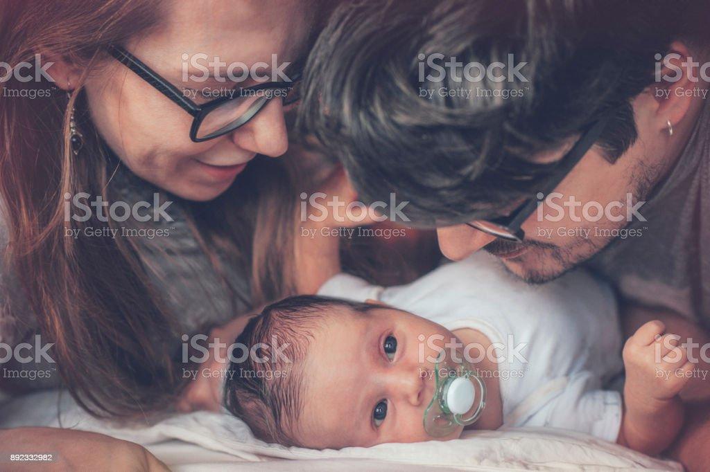 Familien mit Neugeborenen – Foto