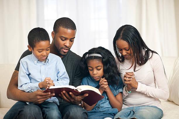 Image result for black family praying