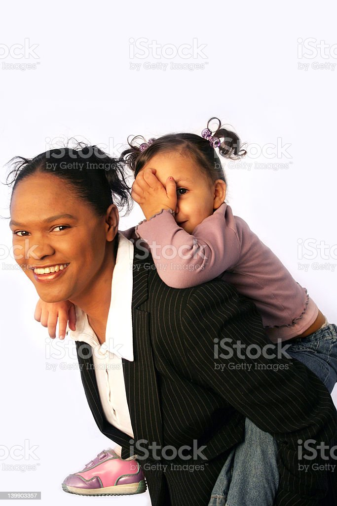 Family - Working Mothers royalty-free stock photo