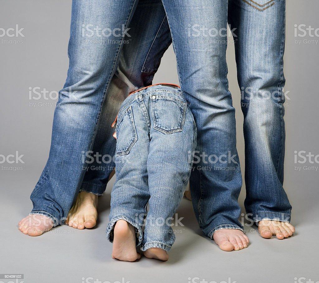 Dżinsy rodziny – zdjęcie