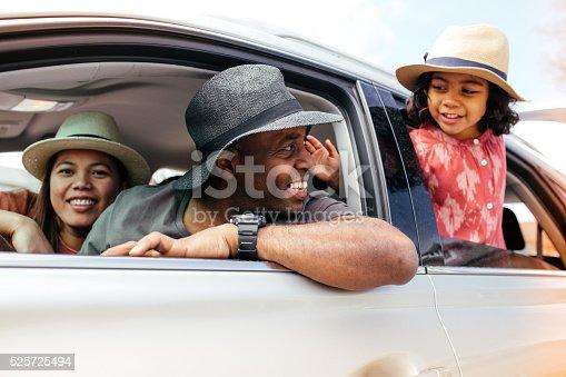istock Family's  road trip 525725494