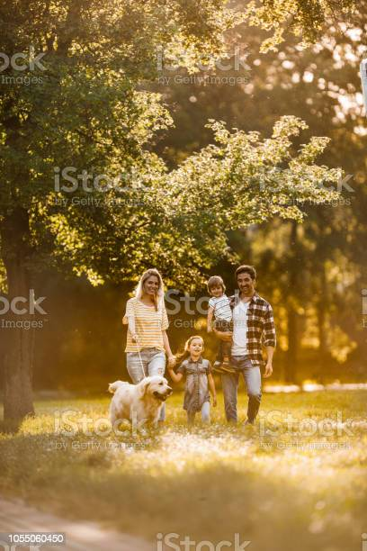 Familys spring walk with a dog picture id1055060450?b=1&k=6&m=1055060450&s=612x612&h=gd02fxcjgkvf yc qf6crgzlxlyqzbmxdjdihv0d xo=