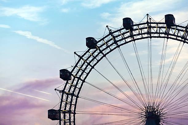 Berühmten und historischen Riesenrad der prater in Wien – Foto