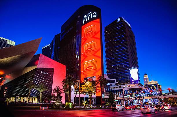 Famous Aria Hotel in Las Vegas, Nevada, USA – Foto