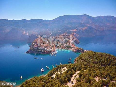 823335112 istock photo Famous Assos village in Kefalonia island 821961740