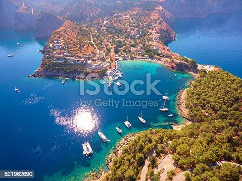 823335112 istock photo Famous Assos village in Kefalonia island 821962690