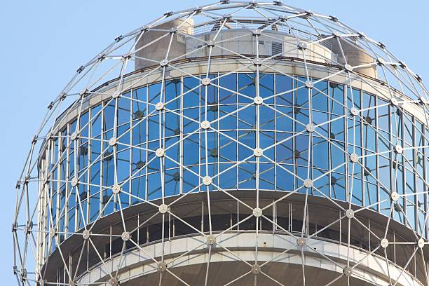 Famous ball atop Reunion Tower in Dallas
