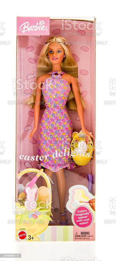 Famous Barbie Doll stock photo