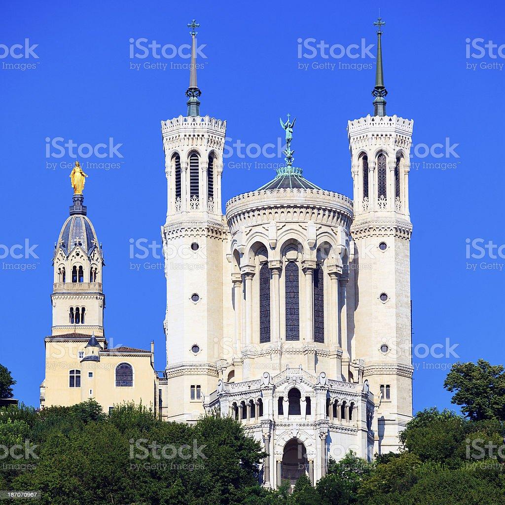 Célèbre Basilique de Notre-Dame-de-Fourvière - Photo