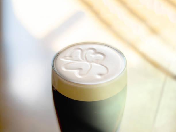 Berühmter schwarzer irischer Stout – Foto
