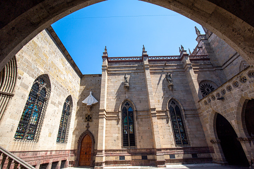 Famous Blessed Sacrament Temple in Guadalajara (Templo Expiatorio del Santisimo Sacramento)