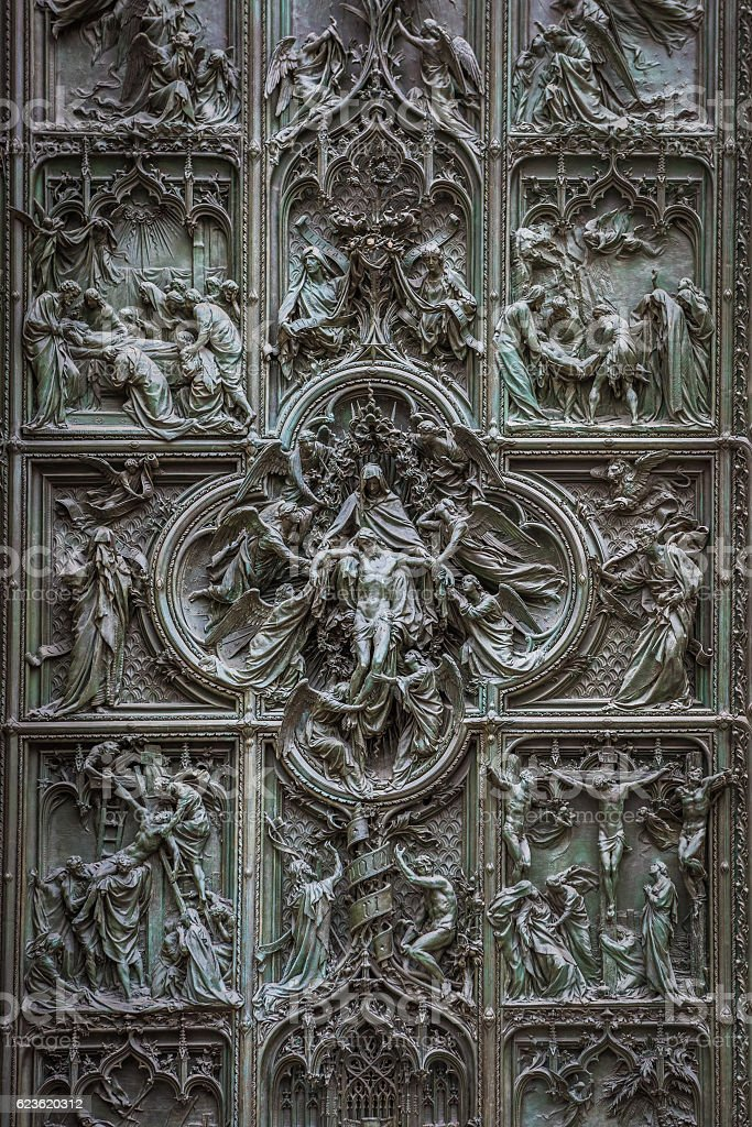 Famous bronze doors of Milan Cathedral Italy royalty-free stock photo & Famous Bronze Doors Of Milan Cathedral Italy stock photo 623620312 ... Pezcame.Com