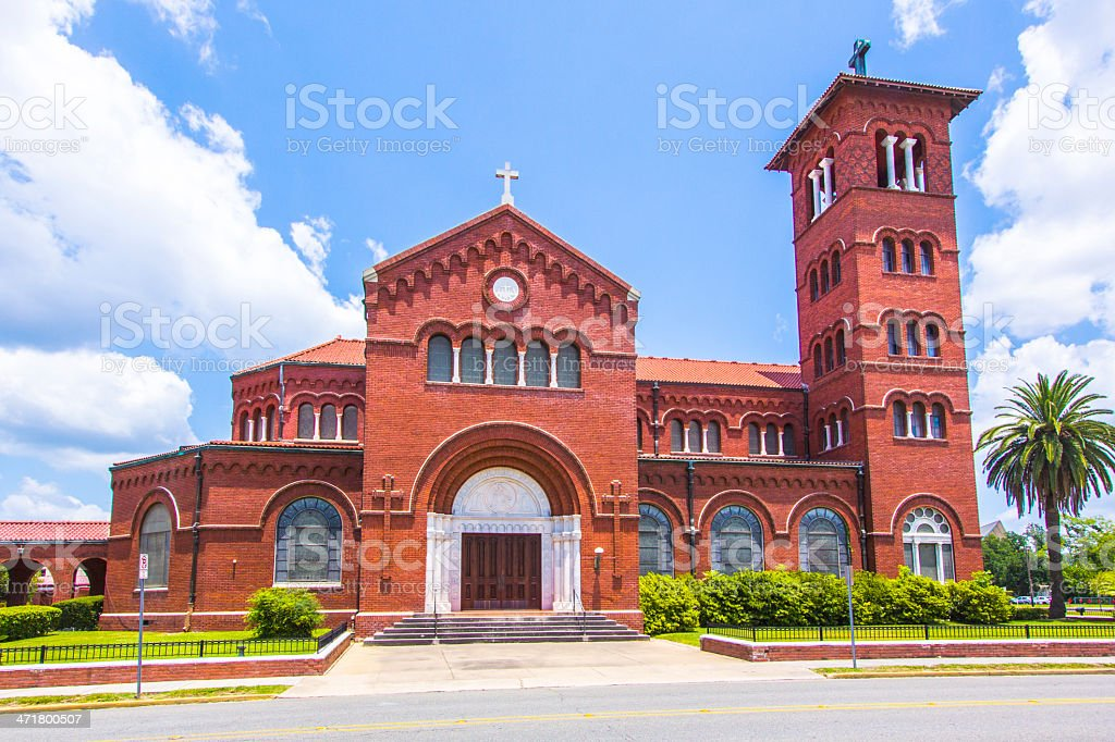 famous cathedral of the immaculate conception stock photo