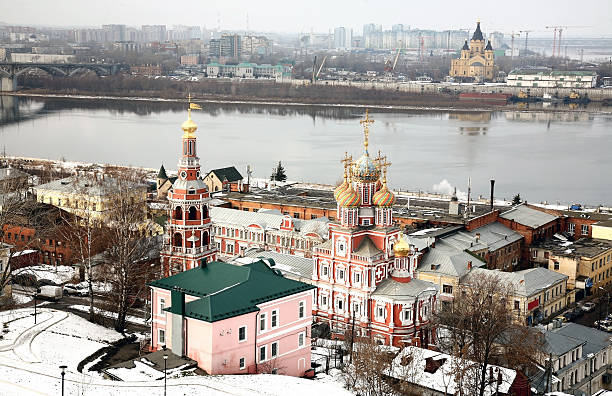 Famous christian churches in Nizhny Novgorod – Foto