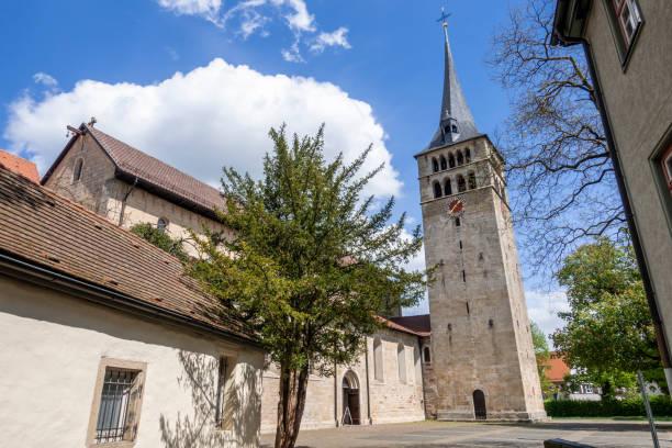 famous church Martinskirche in Sindelfingen germany stock photo