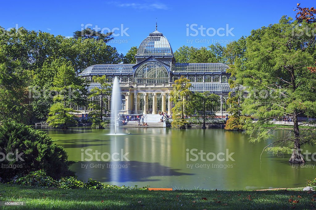 Famous Crystal Palace stock photo