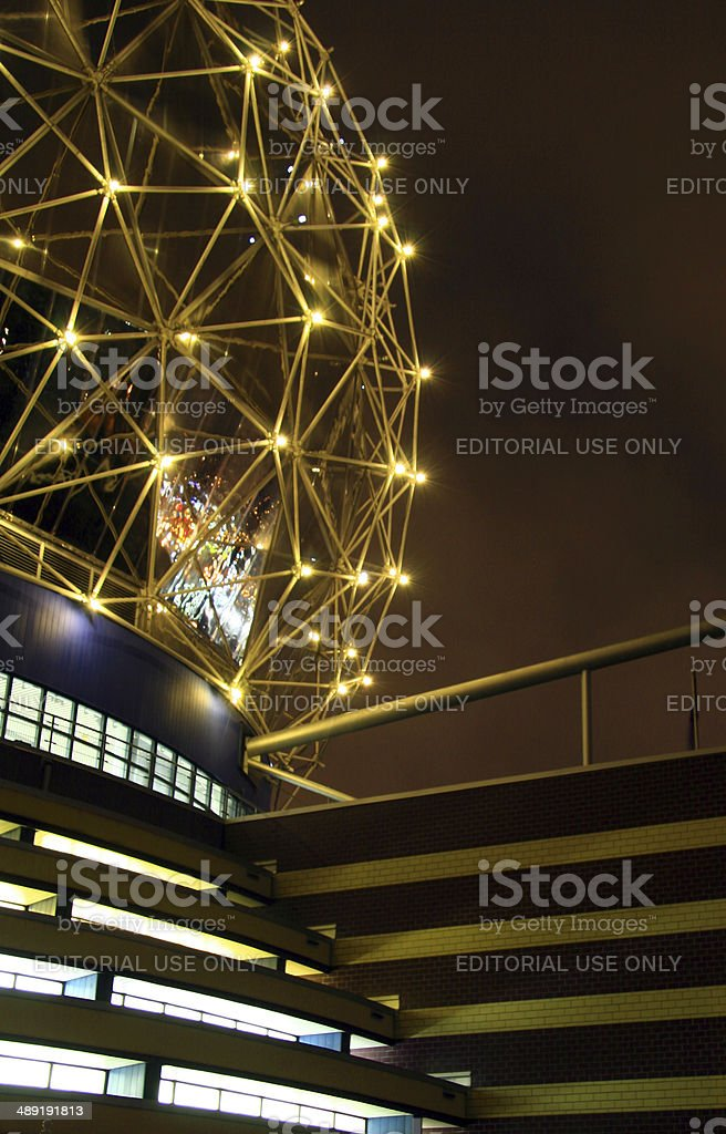 Famous Curve royalty-free stock photo
