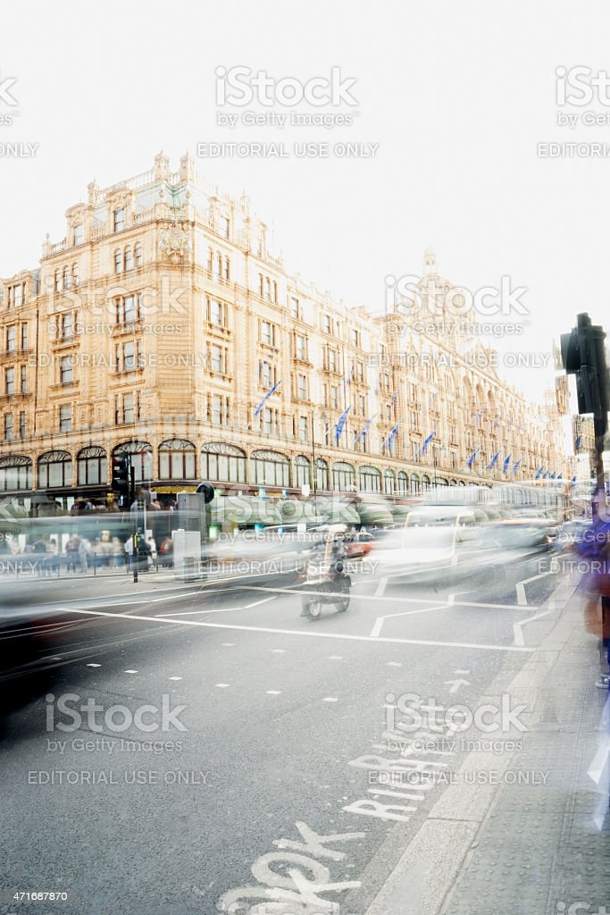 Famous Department Store, London, England, UK stock photo