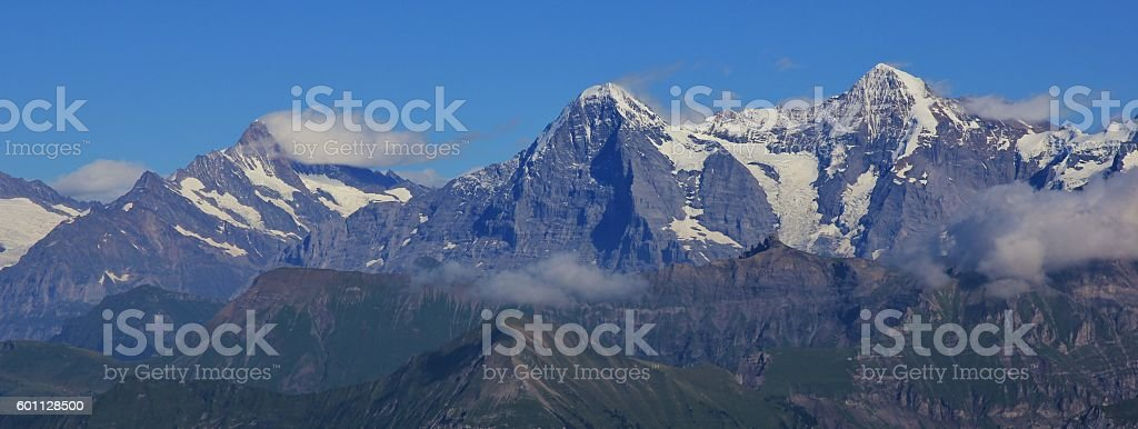 Famous Eiger North Face stock photo