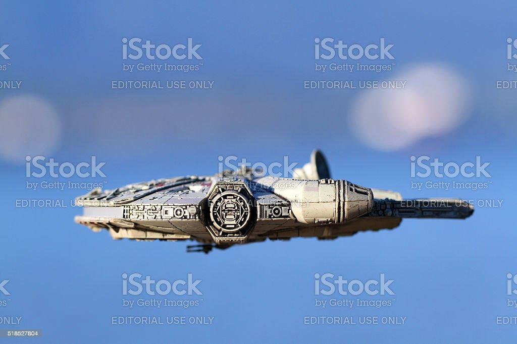 Famous Falcon stock photo