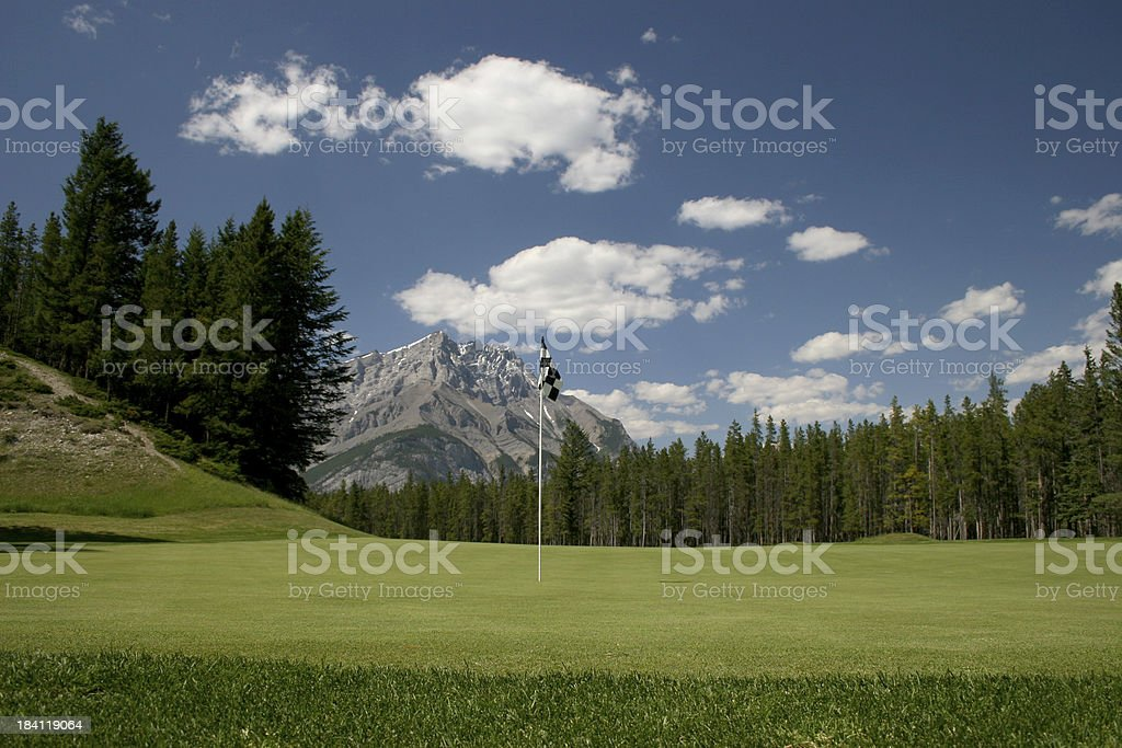 Famous Golf Course royalty-free stock photo