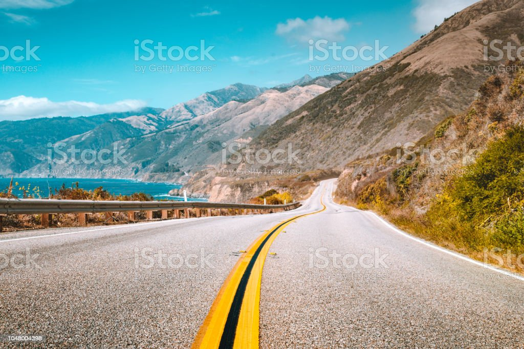 Berühmten Highway 1 in Big Sur, Kalifornien Zentralküste, USA – Foto