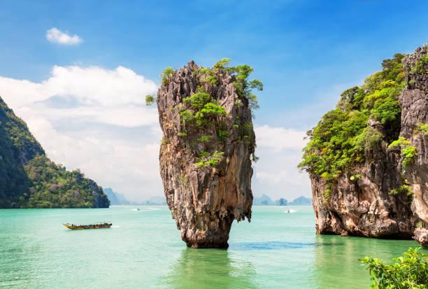 Berühmte James-Bond-Insel in der Nähe von Phuket – Foto