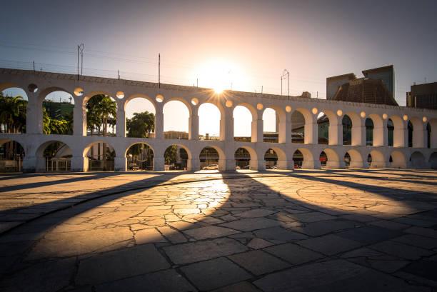 Berühmten Lapa Arch in Rio De Janeiro – Foto