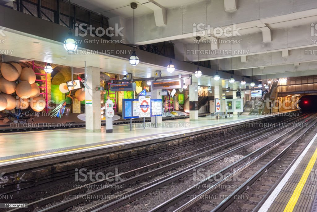famous London Underground station of Gloucester Road.