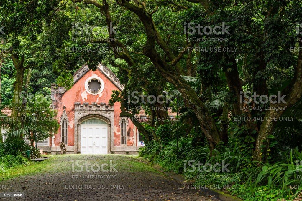 Berühmte Villa Gebäude Im Parque Lage In Jardim Botanico ...