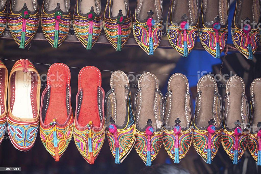 Famous market in Delhi royalty-free stock photo