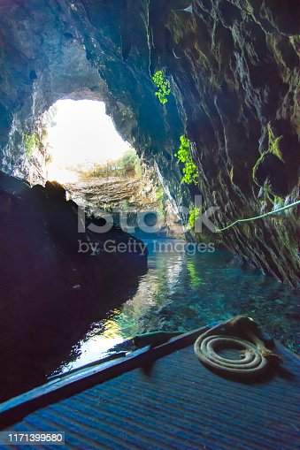 823335112 istock photo Famous melissani lake on Kefalonia island, Greece 1171399580