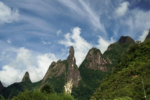 Famous mountain located in the mountains of Teresópolis, in Rio de Janeiro known as