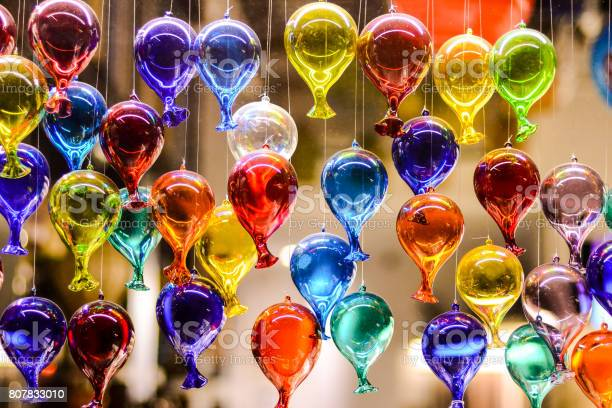 Famous Murano Glass Venice Italian City Stock Photo - Download Image Now