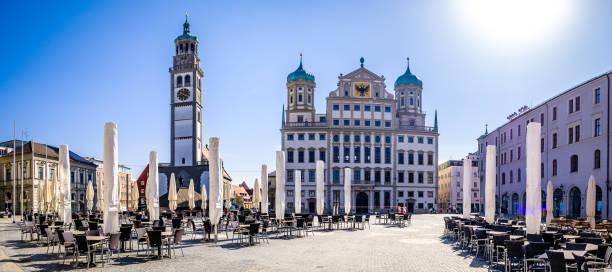 berühmte Altstadt von Augsburg - bavaria – Foto