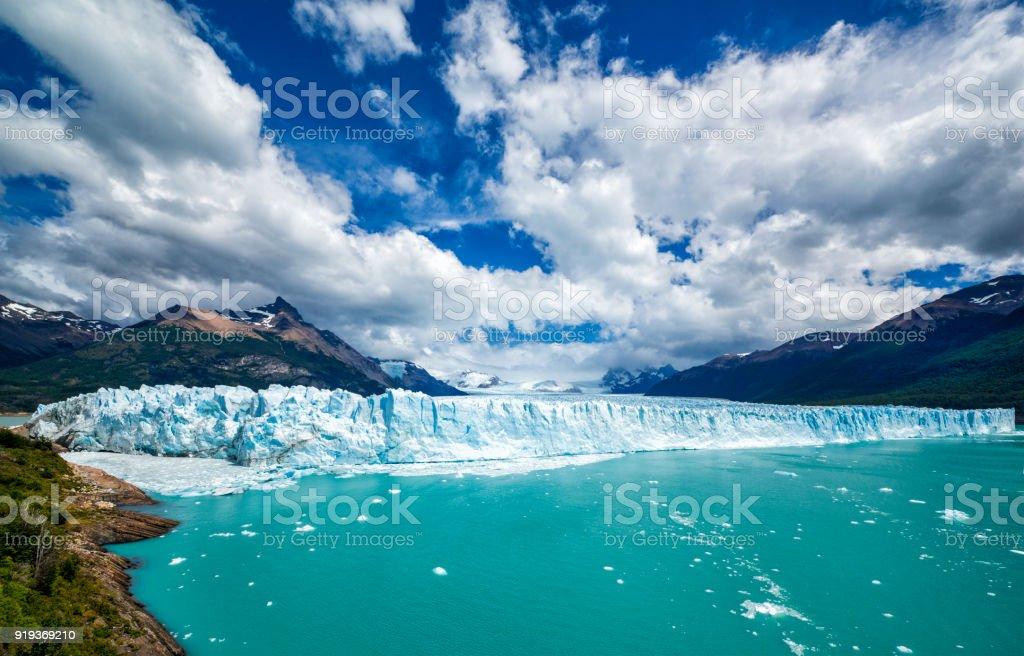 Famous Perito Moreno Glacier in Patagonia, Argentina stock photo