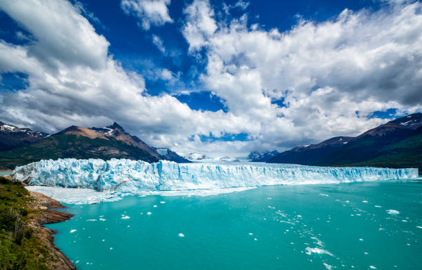 Famous Perito Moreno Glacier in Patagonia, Argentina stock photo