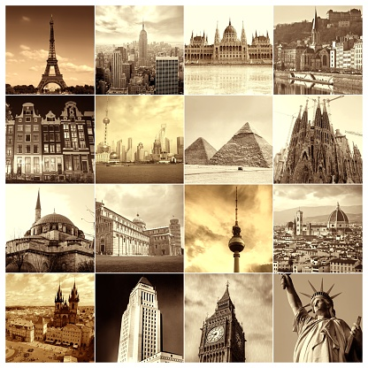 istock Famous places around the World 667425980