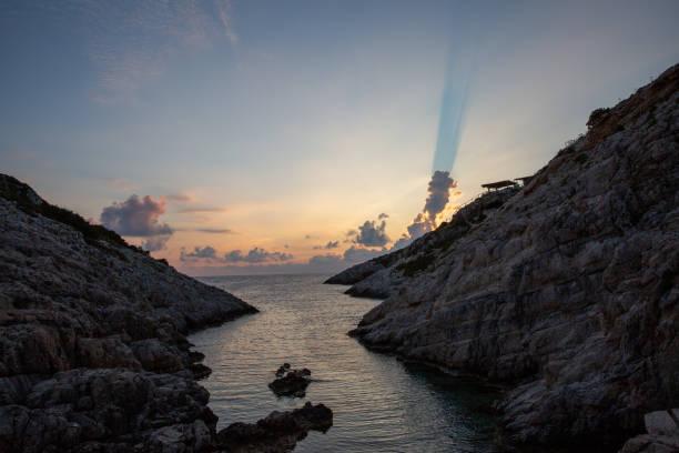 Berühmte Felsformationen Korakonissi in Zakynthos, Griechenland – Foto