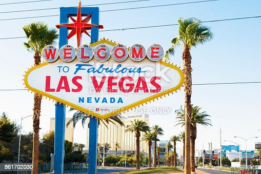 1056445350 istock photo Famous Sign Welcome to Fabulous Las Vegas, Nevada 861702030