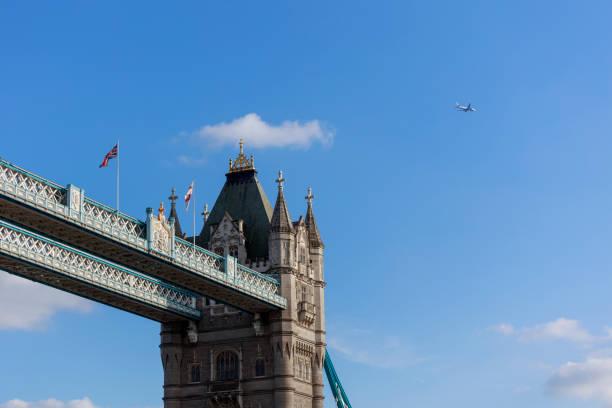 Famous Tower Bridge, London, UK stock photo