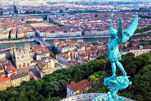 Célèbre vue de Lyon - Photo
