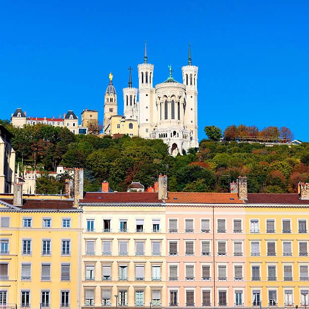 Célèbre vue sur Notre-Dame-de-Fourvière - Photo