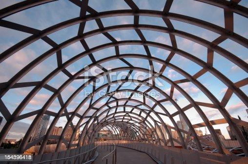 istock Famous Webb Bridge in Melbourne, Victoria, Australia 154396418
