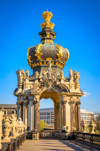 Famous Zwinger palace in Dresden, Saxrony, Germany Famous Zwinger palace in Dresden, Saxrony, Germany zwanger stock pictures, royalty-free photos & images