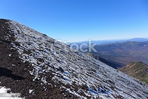 Mt Iwate is one of the 100 famous mountains in Japan , which is located in Towada Hachimantai National Park.