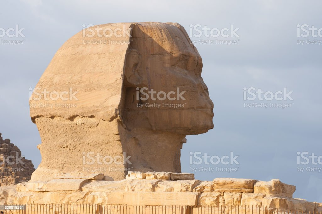 Famouse Sphinx stock photo