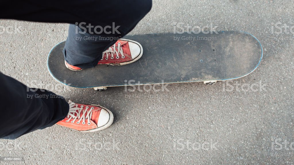 Fan active extreme sport for young kid stock photo