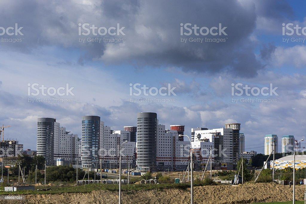 Fan village, Minsk, Belarus stock photo